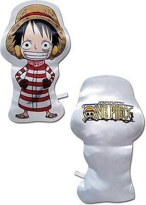 *NEW* One Piece: Chibi Luffy Plush Pillow by GE Animation