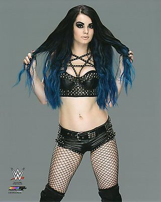 "WWE PHOTO PAIGE WRESTLING GENUINE OFFICIAL 8x10"" PROMO PICTURE"