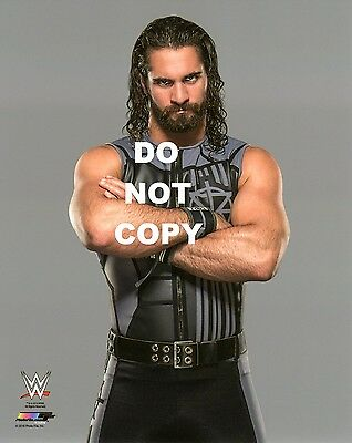 SETH ROLLINS BRAND NEW WWE PHOTO STUDIO 8x10 OFFICIAL WRESTLING PROMO