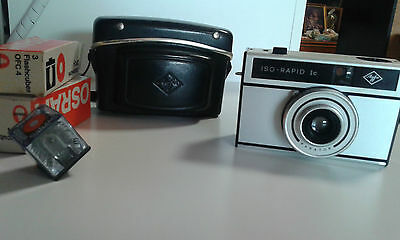 MACCHINA FOTOGRAFICA AGFA ISO-RAPID Ic VINTAGE ANNI '60 MADE IN GERMANY