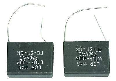 Contact Suppressor 250V Capacitor And Resistor Connected In Series New