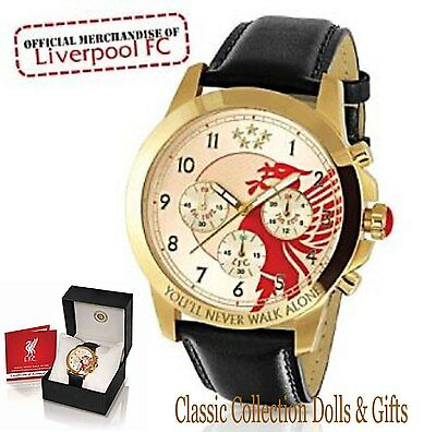 Bradford Exchange-Official Liverpool Fc Classic Chronograph Watch -New-In Stock!