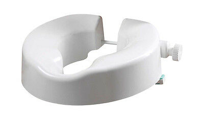 Unifix Multi-Height Toilet Seat 3-4 Raiser with Carry Bag