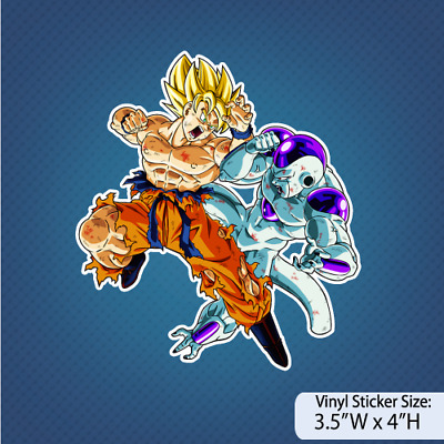 Goku Vs Freeza / Dragon Ball Z / Version M / Anime / Decal / Sticker