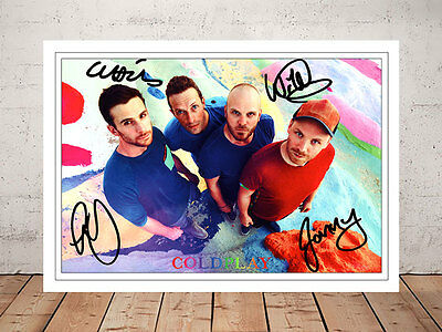 Chris Martin Coldplay A Head Full Of Dreams Autographed Signed Photo Print