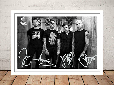 Patrick Stump Fall Out Boy Autographed Signed Photo Print 12X8