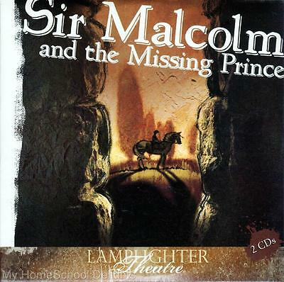 NEW Sealed Lamplighter Theatre Theater SIR MALCOLM AND THE MISSING PRINCE Audio