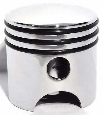 gear shift knob piston style chrome cast for Kenworth Peterbilt Freightliner