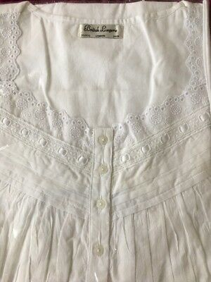 White cotton nightie Medium/Large