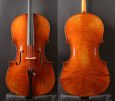 "Best Model Antonio ""Simpson"" Guadagnini Cello 1777 Copy! 7/8 Lady size cello"