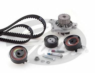 Oe Gates Powergrip Timing Cam Belt Kit And Water Pump Vw T4 Transporter 2.5Tdi