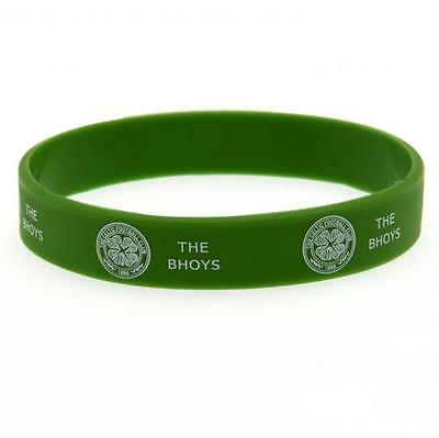 Official Licensed Football Product Celtic FC Silicone Wristband Crest Gift New