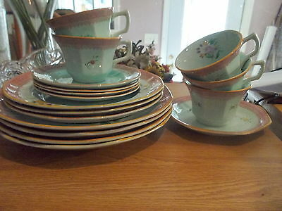 17 Assorted Pieces ADAMS Calyx Ware LOWESTOFT China  H-105