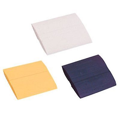 Tailors Chalk ( White ) 48 Pieces Wax Base Fabrics Garments Upholstery Patterns