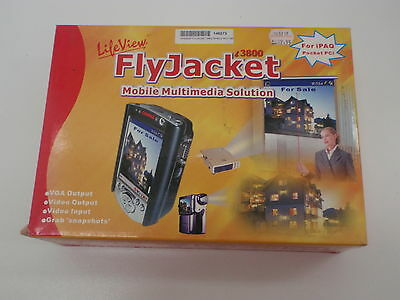 Lifeview Flyjacket I3800 Mobile Multimedia Solution For Ipaq Pocket Pc New