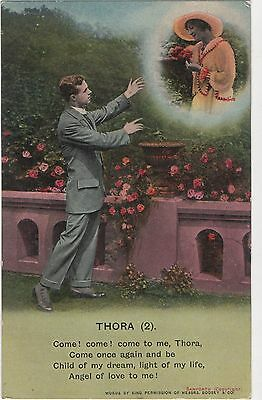 Postcard  Song Cards Thora (2)