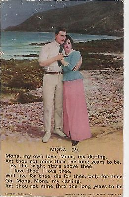 Postcard  Song Cards  Mona (2)