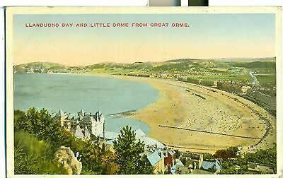 Postcard Llandudno Bay & Little Orme