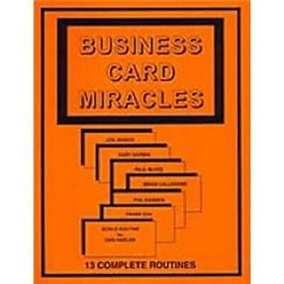 Business Card Miracles Magic Booklet