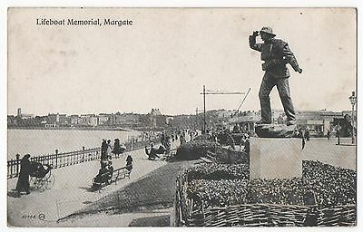 POSTCARD MARGATE Lifeboat memorial