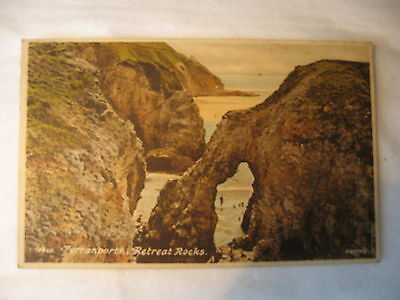 POSTCARD  PERRANPORTH  Retreat Rocks