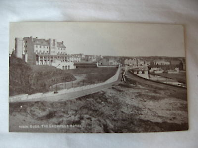 POSTCARD  BUDE The Grenville Hotel