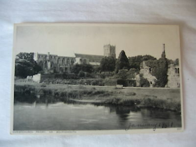 Postcard Christchurch Priory