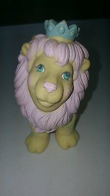 Hasbro 1984 Moon Dreamers Yellow Pastel Roary The Lion  Vintage Rare 1980 Toy
