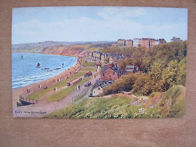 Vintage Postcard - Filey From North Cliff - Yorkshire - Quinton 2814