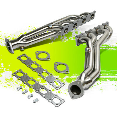 Stainless Racing 2X 4-1 Manifold Header/exhaust For 04-15 Nissan Titan/armada