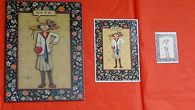 Vintage Mary Engelbreit Matching Set Cards to Keep Poster,  card, gift encl