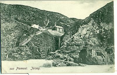POSTCARD  CHANNEL ISLANDS  Jersey  Plemont