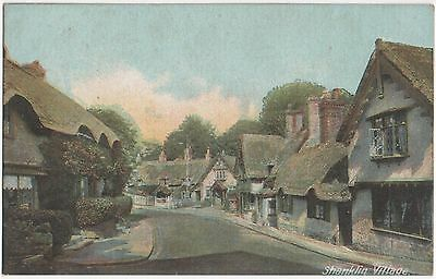 POSTCARD  SHANKLIN  The Village
