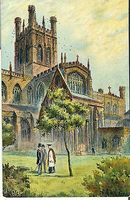 POSTCARD CHESTER The Cathedral