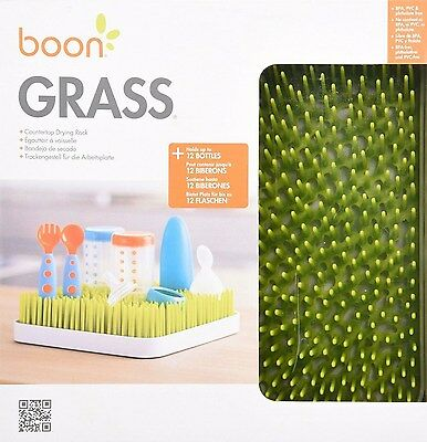 Boon Grass Countertop Drying Rack for Baby Bottle & Accessories, Green