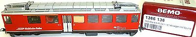 RhB ABe 4/4 Berninatriebwagen DIGITAL SOUND BEMO 1366 136 H0m 1:87 å