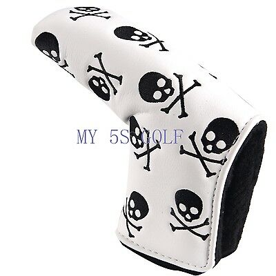 Golf Skull Headcover Putter Cover For Scotty Cameron Taylormade Odyssey Blade