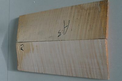 Flame maple violin back plank old wood luthier wood