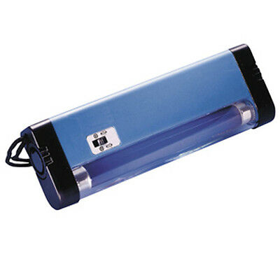 ULTRAVIOLET UV LONG WAVE HAND LAMP 366nm FOR FLUORESCENCE ON STAMPS / BANKNOTES