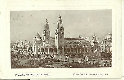 POSTCARD EXHIBITIONS Franco British 1908 Palace of Womans Work