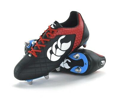 Canterbury Stampede Club 8 Stud - Mens Rugby Boots - E22354-989 - Brand New