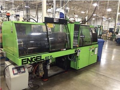 1998 60 Ton Engel ES200/60 TL Injection Molding Machine-IMM #7762842