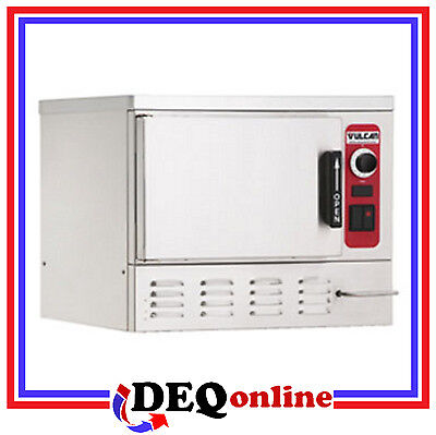 Vulcan C24EA3-LWE Electric Counter Convection Steamer with Low Water Energy