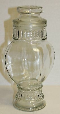 Vintage Collectible Glass Drugstore Apothecary/Candy Jar