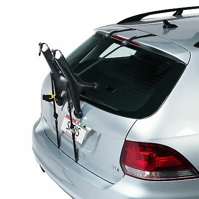 Saris Car/Vehicle Solo Road/MTB Bike/Cycle/Cycling/Bicycle Carrier - Black