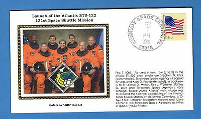 Colorano STS-122 Space Shuttle Atlantis Launch Kennedy Space Center Florid Cover