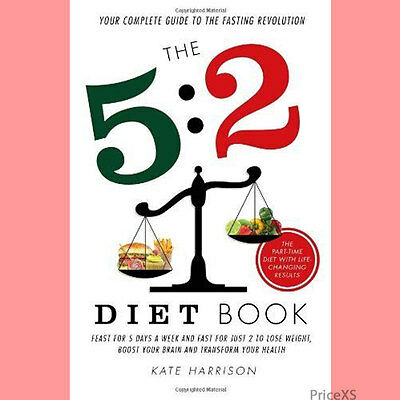 The 5:2 Diet Book (Kate Harrison Book | Paperback | Brand NEW) + Fast & Free