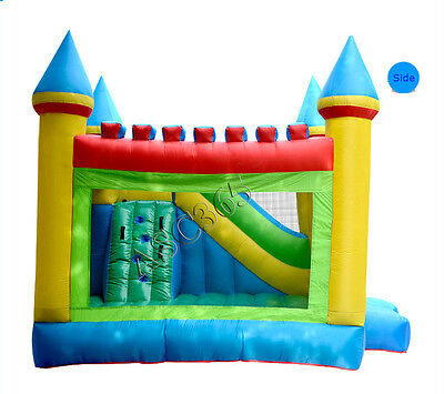 Commercial Grade PVC Inflatable Crayon Bounce Kids House Castle Jump with Blower