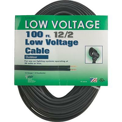 Moonrays 12/2 100' Low Volt Cable