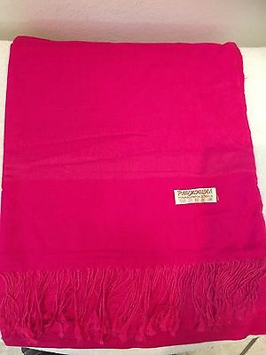 Silk Shawl Pashmina Stole Scarf Wrap Soft Long Women New Solid Paisley Elegant